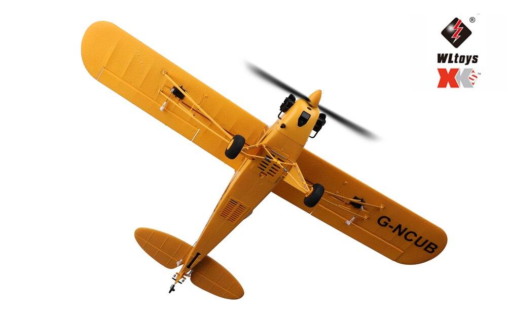 Original Hot WLtoys A160 J3 RC airplane RTF EPP RC Airplane Foam Plane 3D/6G System 650mm Wingspan Kit Brushless motor enlarge