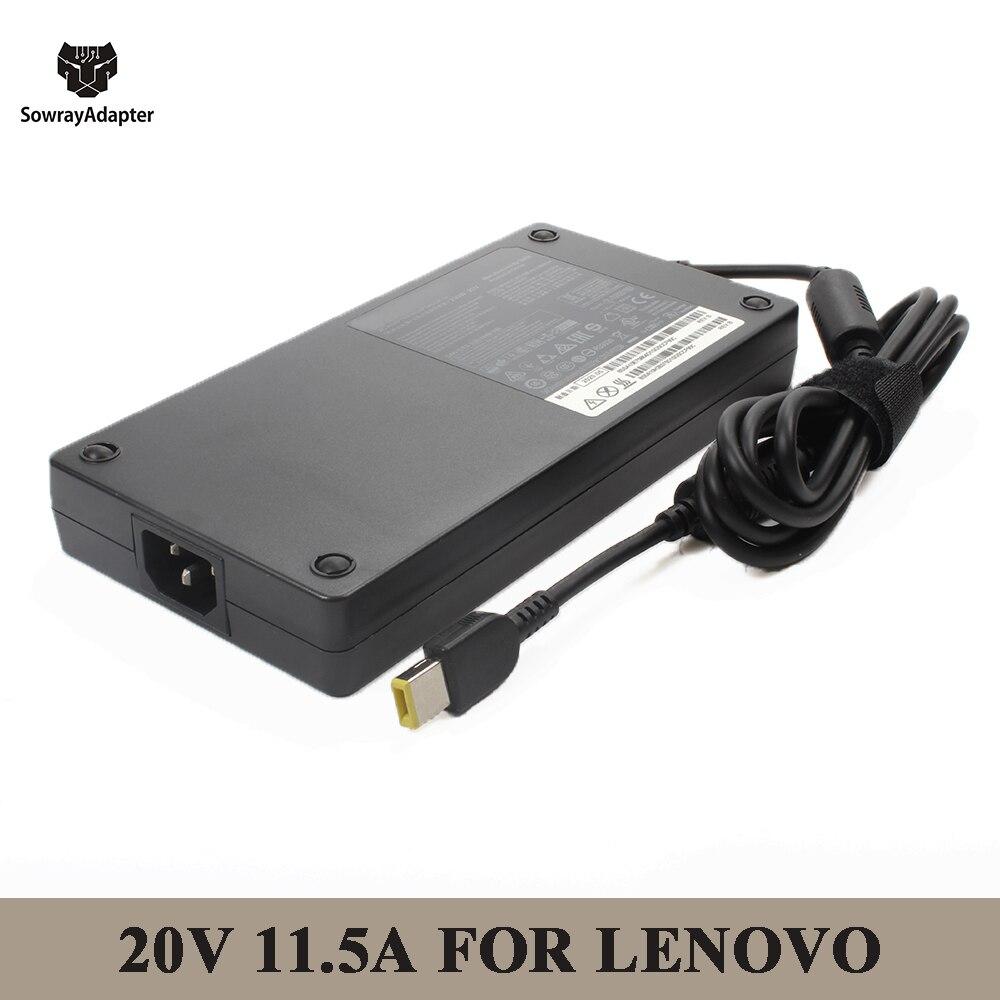 [해외] 20V 11.5A 230W USB 핀 AC 노트북 충전기 어댑터, 레노버 레기온 Y740 Y920 Y540 P50 P70 P71 P72 P73 Y7000P Y9000K A940
