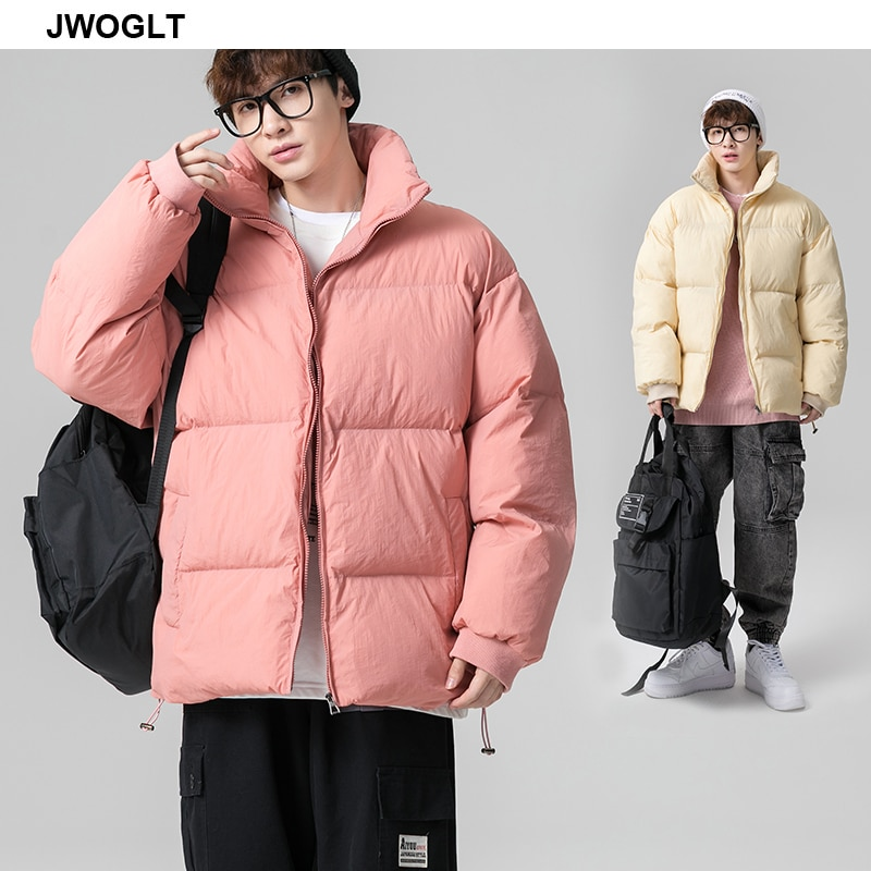 Winter Jacket Men Korea Fashion Warm Male Parka Jacket Solid Thick Zipper Windproof Jackets and Coats Man Winter Outwear 5XL