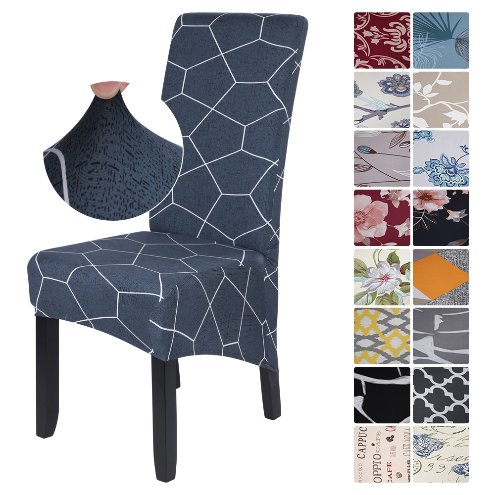 gsfy wholesale coussin housse chaise haute rehausseur nomade siege harnais securite repas bebe Chair Cover Stretch Spandex Removable Slipcover for Dining Room Party Wedding Hotel Decoration housse de chaise