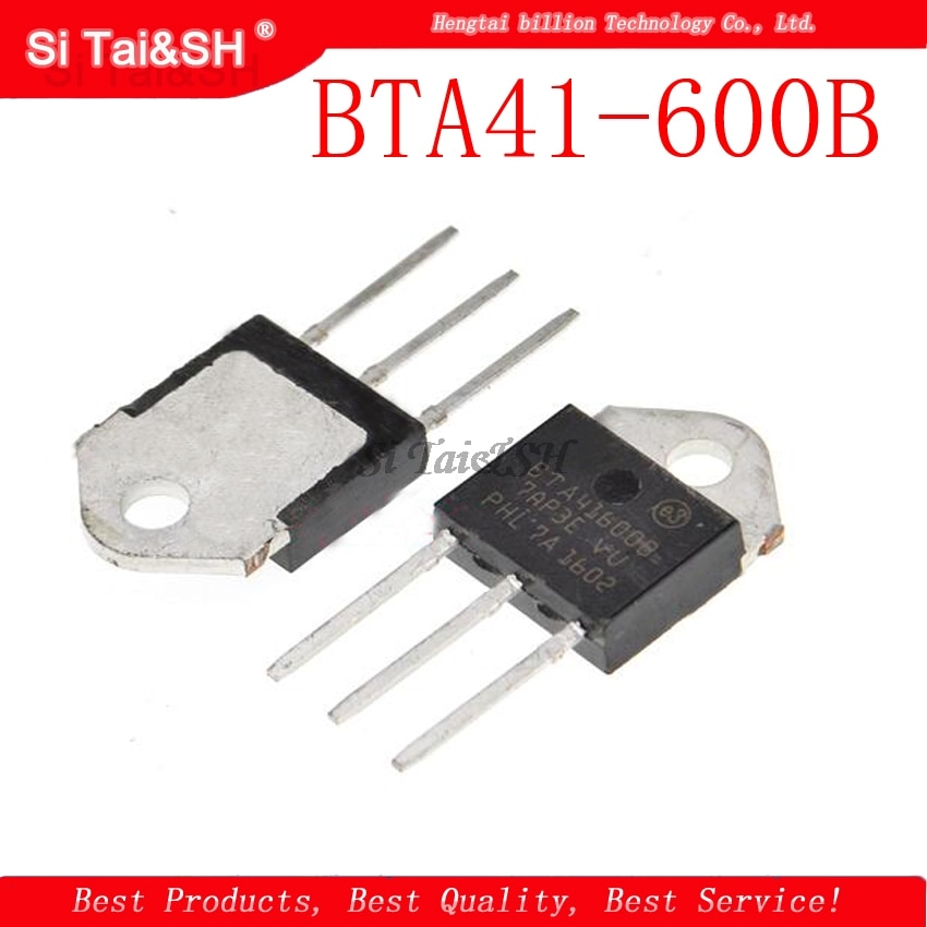 5 шт./лот BTA41-600B BTA41600B BTA41 BTA41-600B симисторов 40 ампер 600 вольт TO-3P новый оригинальный