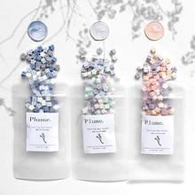 Ins Sakura-sceau de cire en fleurs de cerisier   Sceau pour perles de scellage, emballage de pot de mariage, timbres et cartes postales cadeaux, 120 pièces