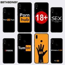 섹스 섹시한 Pornhub Tumbir 18 전화 케이스 Xiaomi Redmi 참고 4 4x5 6 7 8 pro S2 PLUS 6A PRO