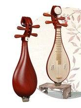 Bois de santal rouge traditionnel Liuqin Lignum vitae Liu Qin luth chinois mandoline