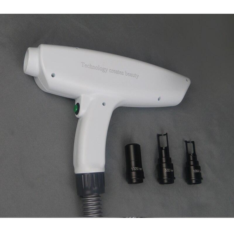 Q-تحول جهاز إزالة الوشم بالليزر مقبض لإزالة الوشم إزالة الصباغ قطع الغيار اكسسوارات الليزر لإزالة الوشم العناية بالبشرة