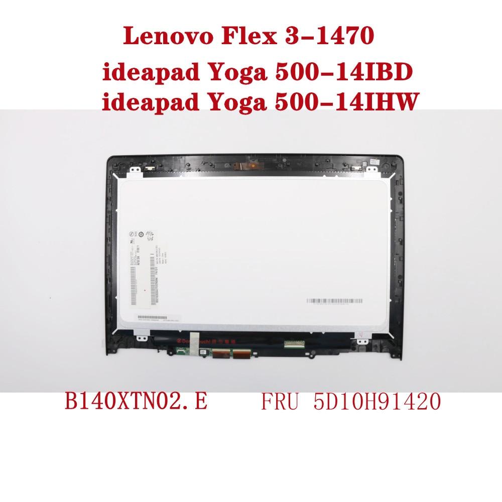 لينوفو فليكس 3-1470 يوغا 500-14IBD يوغا 500-14IHW كمبيوتر محمول 14