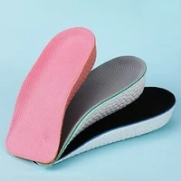 3 5cm inner heightened insole invisible height increase insole orthopedic massaging feet care arch support pad for plantar