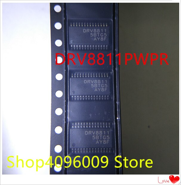 NOVA 10 pçs/lote DRV8811PWPR DRV8811PWP DRV8811 HTSSOP-28