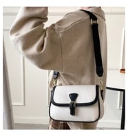 2021 new fashion ladies the same shoulder messenger bag simple casual wide shoulder strap western style small square bag girl