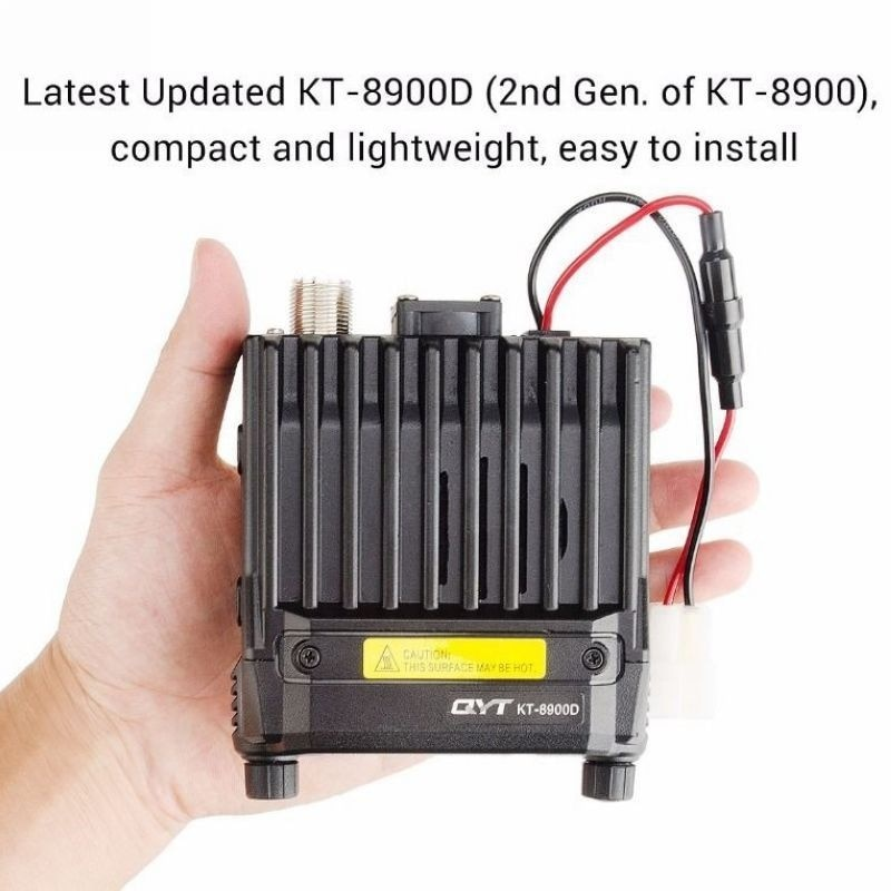 QYT KT-8900D Dual Band Quad Standby 5Tone 25W VHF UHF Car/Truck Ham Walkie Talkie Mobile Radio Transceiver enlarge