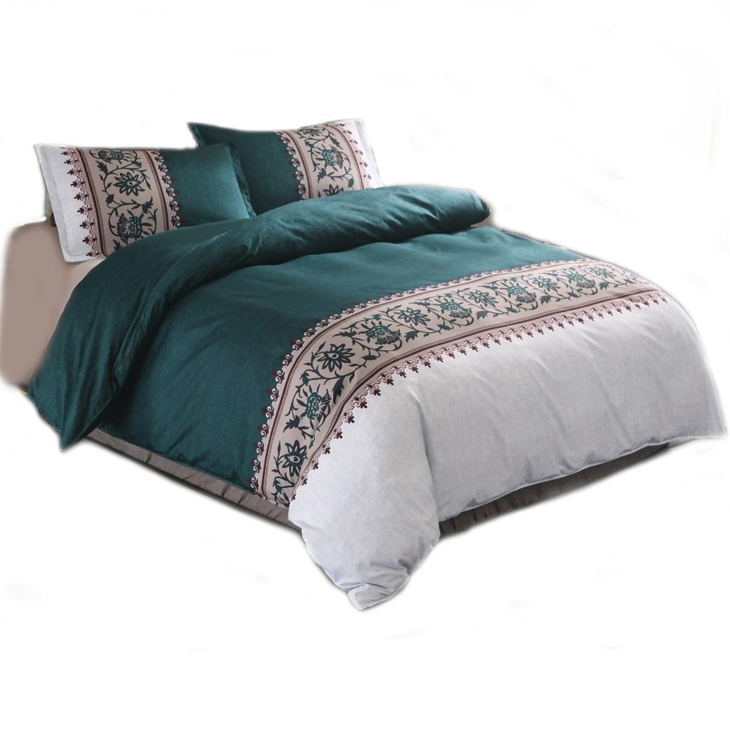 بياضات سرير فاخرة ، بياضات منزلية بلون سادة ، أطقم سرير ، أغطية سرير فردية ، طقم غطاء لحاف عائلي ، غطاء لحاف ، مقاس كوين وكينغ