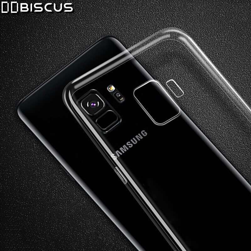 Estuche de silicona transparente para Samsung Galaxy J4 J6 J8 2018 A6 A8 más S10 S9 S8 Nota 10 8 A5 A7 2017 J3 J5 J7 2016 J2 Core cubierta