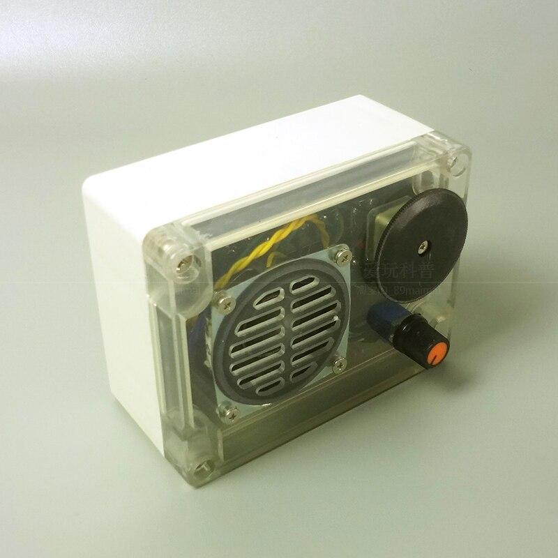 إنتاج DIY بها بنفسك العلوم الإلكترونية تجربة صانع التكنولوجيا لوحة دوائر كهربائية من MW 7642 مجموعة تجميع الراديو