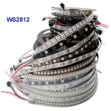 DC5V WS2812B 1m/3m/5m 30/60/74/96/144 pixel/leds/m Smart led pixel streifen, schwarz/Weiß PCB,WS2812 IC;WS2812B/M,IP30/IP65/IP67