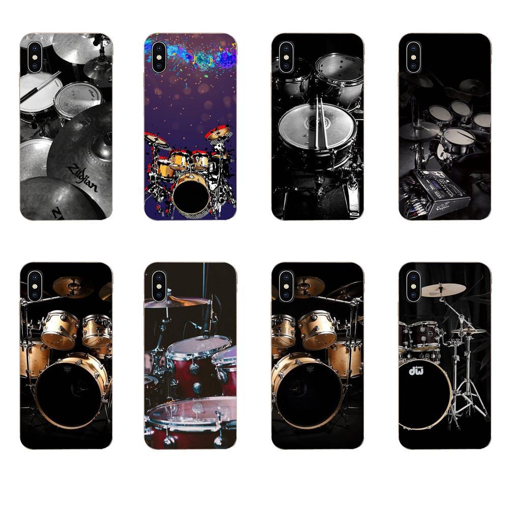 Fundas blandas para Xiaomi Redmi Note 8 8A 8T 10 K30 5G Pro para Motorola G G2 G3 G4 G5 G6 G7 Plus, moda de platillos, batería y música