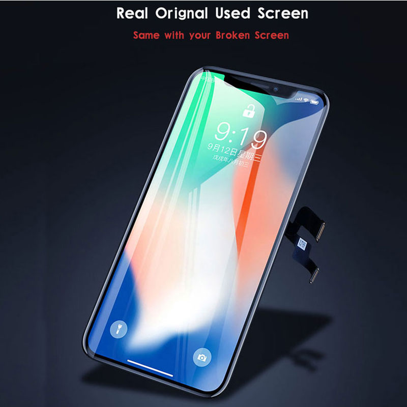 Original True Tone Screen For iPhone 11 pro max lcd Replacement For Iphone XR X XS Max Display With 3D Touch assembly enlarge