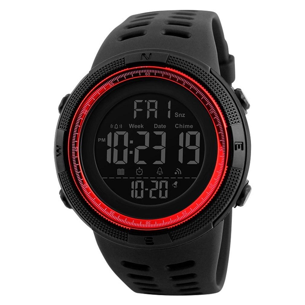 Reloj deportivo para estudiantes al aire libre relojes multifunción reloj despertador Chrono 5Bar reloj Digital impermeable