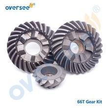 Kit dengrenages 66T-45560 66T-45551 66T-45571   Pour hors-bord Yamaha, moteur Parsun Hidea 2T 40HP 40X marche arrière avant