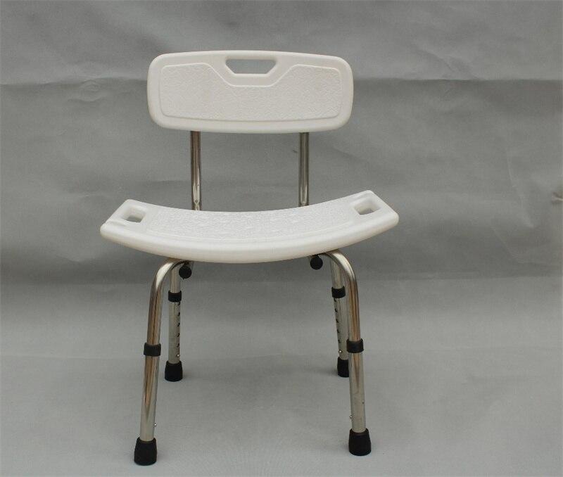 ويتيبس شخص معاق حمام البراز المضادة للانزلاق كرسي المسنين دش البراز ارتفاع قابل للتعديل سبائك الألومنيوم الاستحمام مقاعد الكراسي