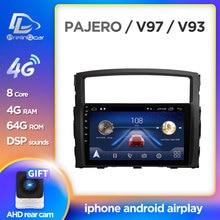 Prelingcar pour MITSUBISHI PAJERO V97 V93 autoradio multimédia lecteur vidéo Navigation GPS Android 10.0 DSP tableau de bord