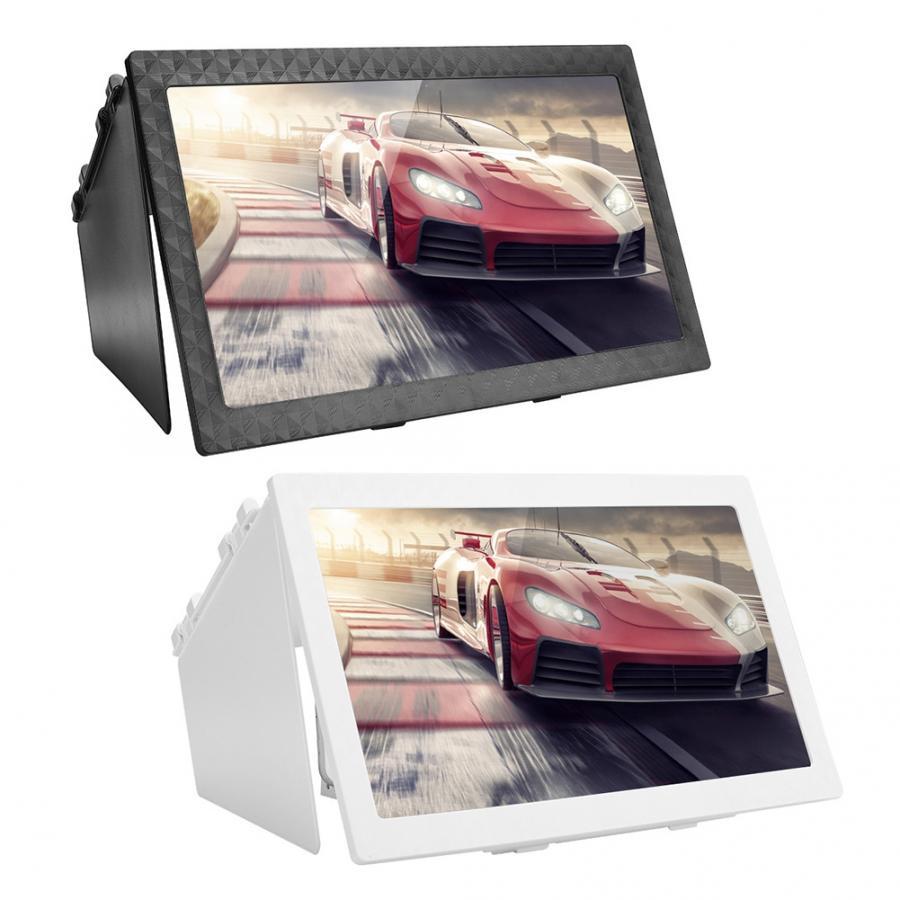 Lupa plegable para pantalla de teléfono móvil 12 pulgadas HD Anti-Blue Light Teléfono de Escritorio soporte para amplificador de vídeo