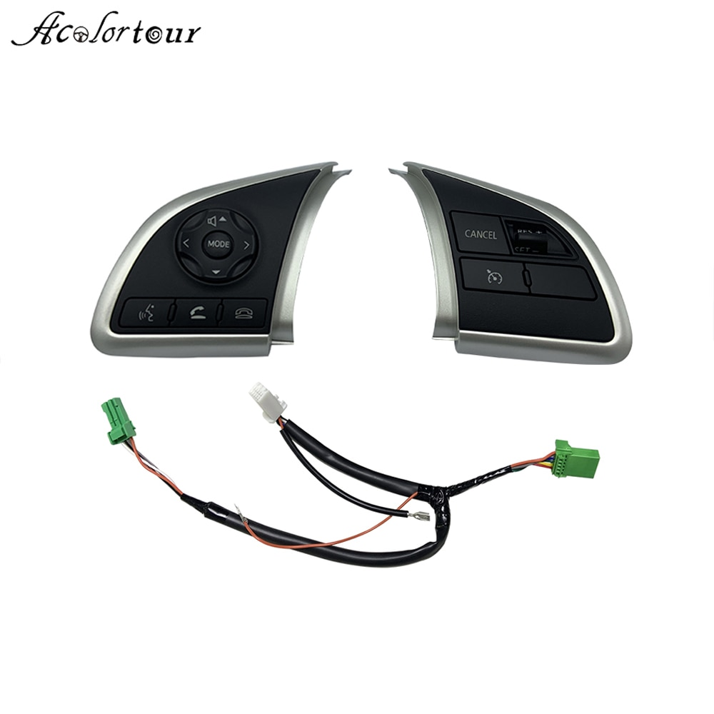 For Mitsubishi Outlander 2013 2014 2015 2016 2017 2018 Cruise Control Switch Steering Wheel Button Audio Android Player Switches