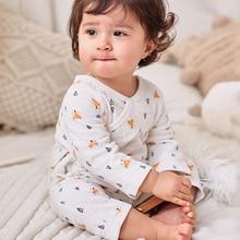 2021 Animals Spring Autumn Baby Jumpsuit Newborn Baby Clothes Kids Long Sleeve Underwear Cotton Boys