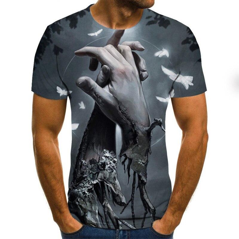 3D  2021 Newest 3D T-shirt 3D Summer Fashion T-shirt Graphic T Shirts Anime T-shirt Long T-shirt Anime Clothes XXS-6XL