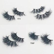 Mink 25mm False Eyelashes Makeup Long  25mm False eye lashes 100% handmade thick False Eyelashes Sex