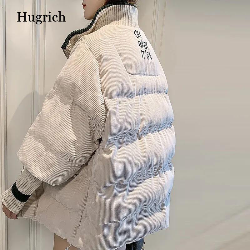 جديد الشتاء سترة المرأة أسفل سترة معاطف الإناث طويلة الأكمام الدافئة عالية الجودة أسفل سترة قطن معطف