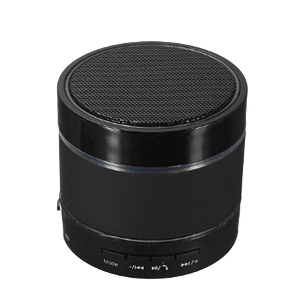 S09 Mini Portable Wireless Bluetooth Speaker Handsfree LED Subwoofer TF Card FM Radio AUX MP3 Music Play Loudspeaker