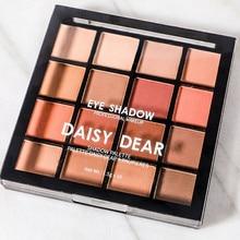 Colors Oil Painting Eyeshadow Palette Glitter Shimmer Eye Shadow Waterproof Powder Matte Cosmetic Ma
