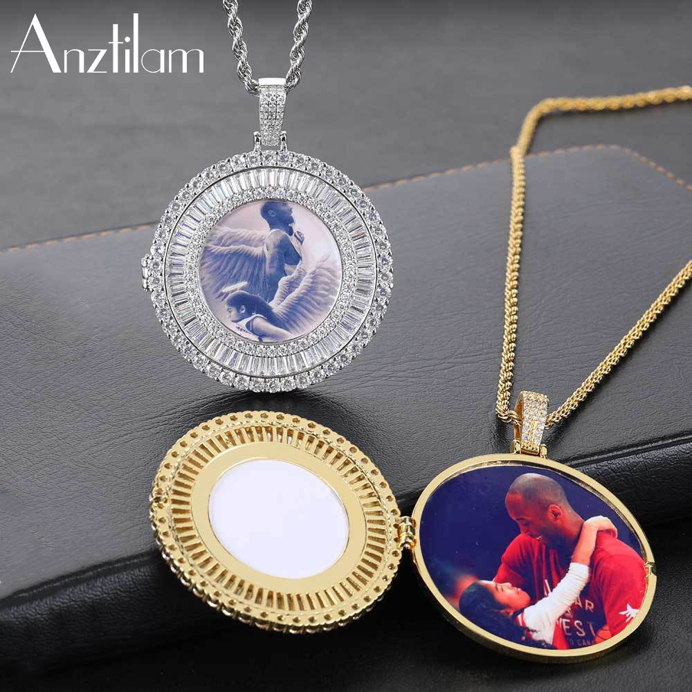 anztilam-hip-hop-flap-round-custom-made-photo-pendant-goth-necklace-paved-zircon-stone-men-women-diy-jewelry-wholesale