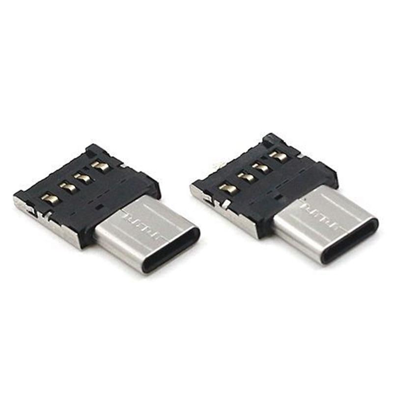 USB 3,1 tipo C USB-C conector tipo C macho a USB hembra OTG convertidor adaptador para teléfono tableta Android unidad Flash U disco