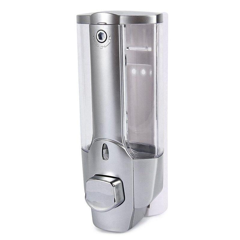 350ml קיר הר מקלחת אמבט סבון שמפו Dispenser עם מנעול לאמבטיה