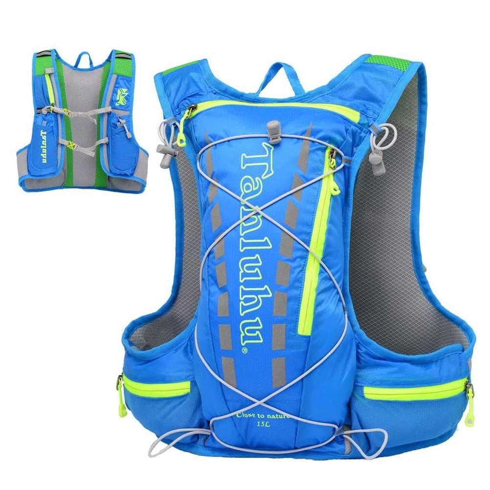 Mochila de hidratación para correr, bolsa de agua deportiva, chaleco ultraligero de...