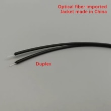 10mtr POF plastic optical fiber telecom 2.2*1.0 HFBR-RUS/EUS500Z optical fiber imported,jacket Chine