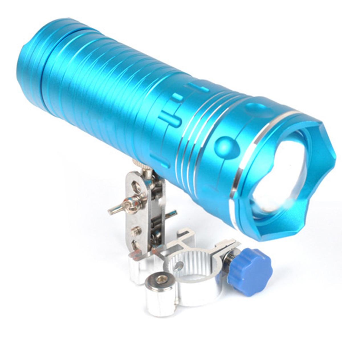 Silla de pesca ajustable de aleación de aluminio Universal para exteriores, soporte de soporte para paraguas, soporte de luz de pesca nocturna de aluminio