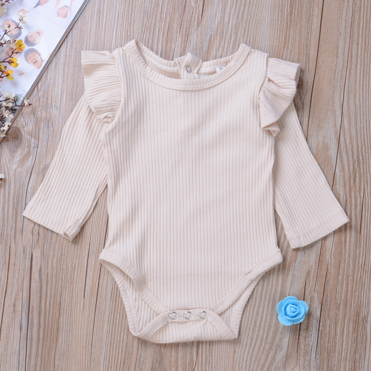 baby girl clothes autumn lattice knitted baby clothes newborn baby girl romper cotton baby cardigan sweater romper jumpsuit 2020 Newest Newborn Baby Girl Clothes Solid Color Long Sleeve Knitted Cotton Romper Jumpsuit Outfits Baby Clothes 0-24M