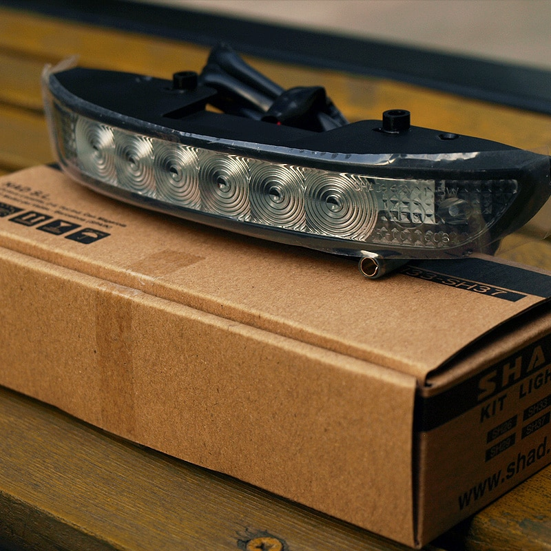 Motorcycle Rear Top Box Plate Brake Light for SHAD SH26 SH29 SH33 SH39 SH40 SH45 SH48