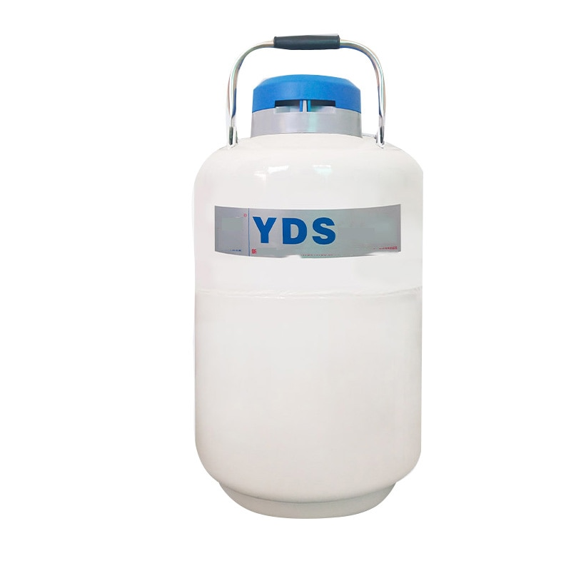 YDS-2 خزان النيتروجين السائل حاوية نيتروجين سائل 2L تخزين نوع المبردة حاوية نيتروجين سائل خزان النيتروجين السائل