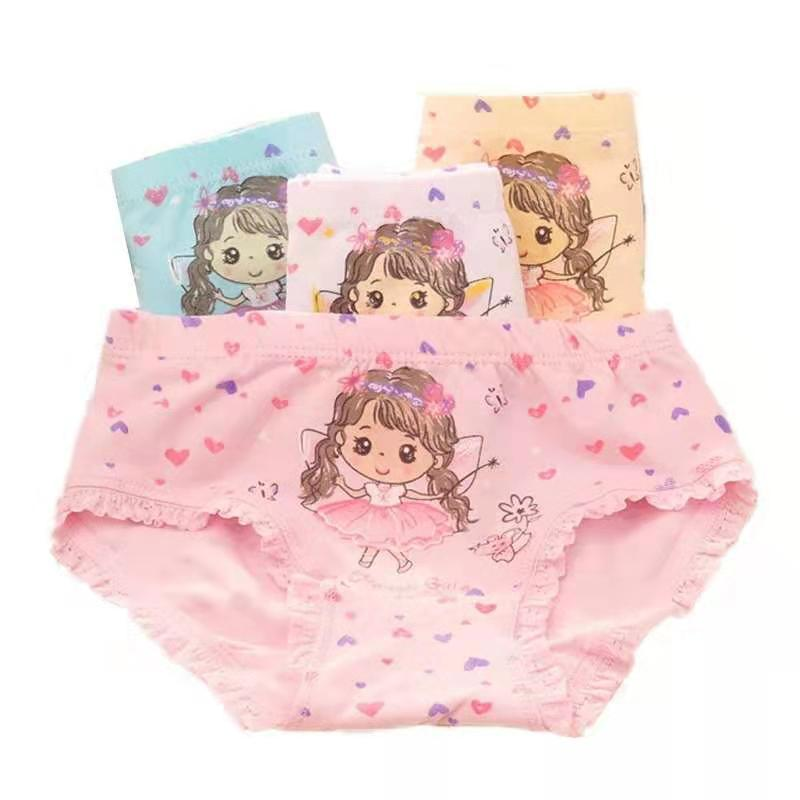 2021 New Baby Girl Panties Girls' Briefs Cotton Soft Panties for Girls Kids Underwear 1-11 Years Tod