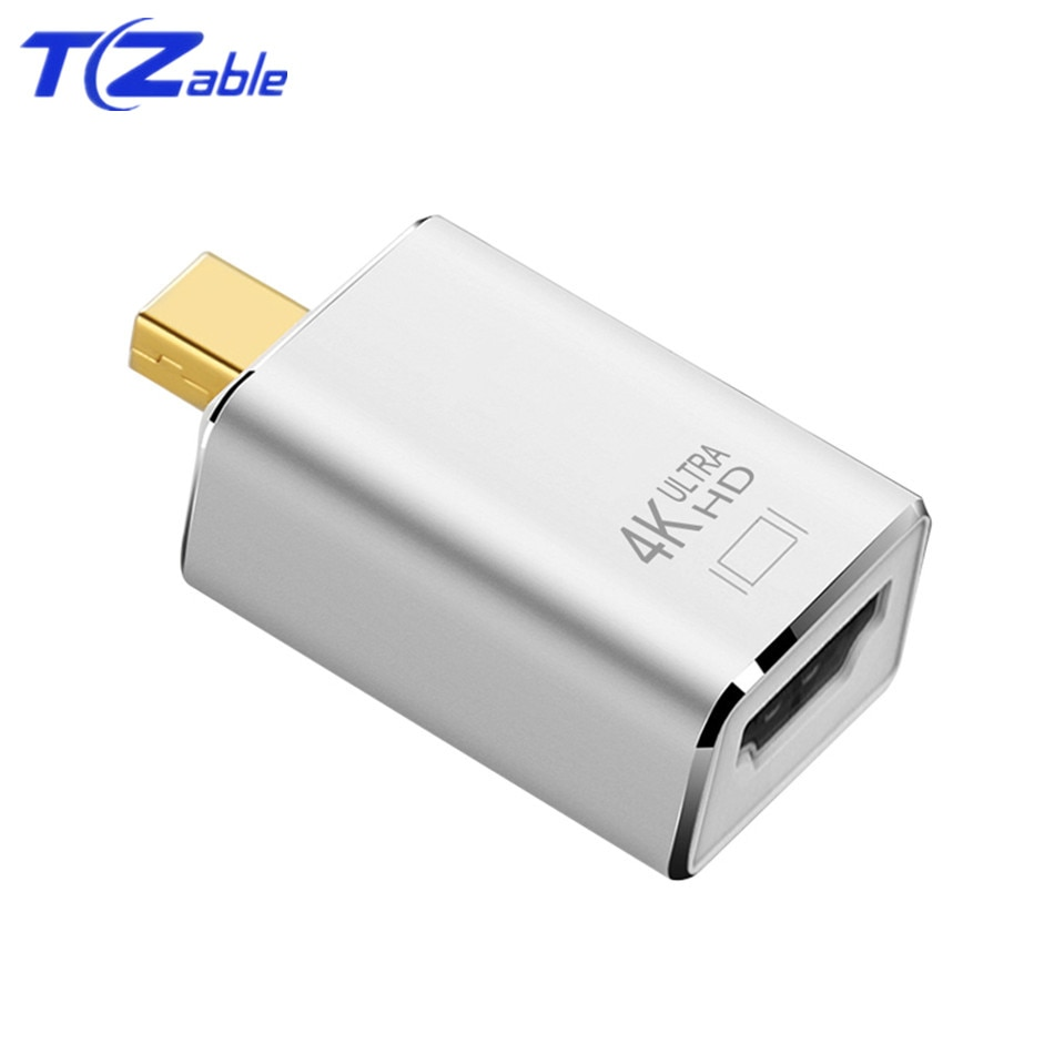 Adaptador Mini DP a HDMI 4K Thunderbolt pantalla Mini DisplayPort Cable de puerto para Mac Macbook Pro Air Mini DP a HDMI convertidores