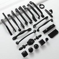Черные мебельные ручки (большой выбор) Посмотреть