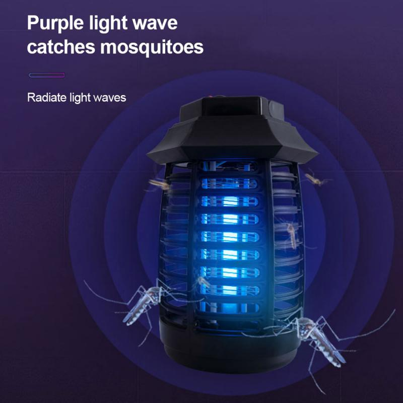 Lámpara LED para matar mosquitos, luz violeta biónica, matamosquitos fotocatalítico con Usb,...