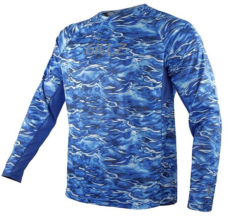 Frete grátis!! Camisas de pesca profissionais masculinas manga longa camisas de dia rápido camisas ao ar livre upf50 +