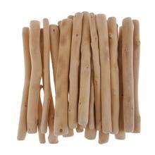 150mm Long Natural Driftwood Branch Branches Forest Wood Craft Stick for DIY Art Crafts Vase Filler Wall Decor Ornament Aquarium