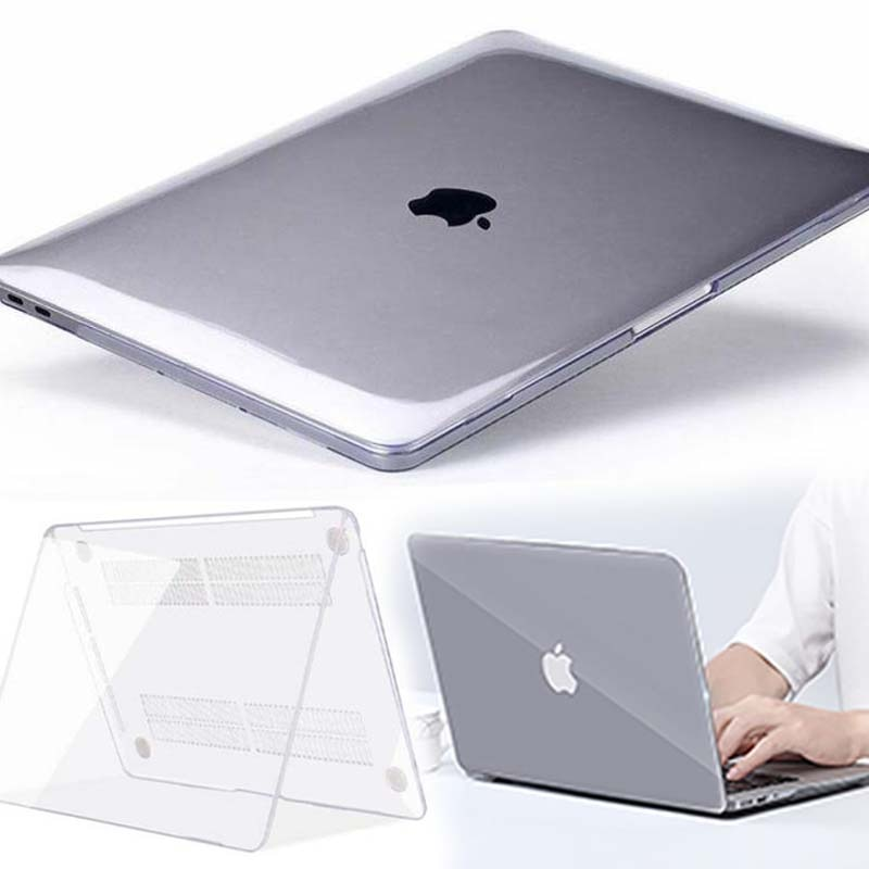 floral crystal clear print hard case for macbook pro 13 15 2016 touch bar laptop bag air pro retina 12 13 15 with keyboard cover KK&LL For Apple MacBook Air Pro Retina 11 12 13 15&New Air 13 / Pro 13 15 16 with Touch Bar-Crystal Hard Shell Laptop cover case