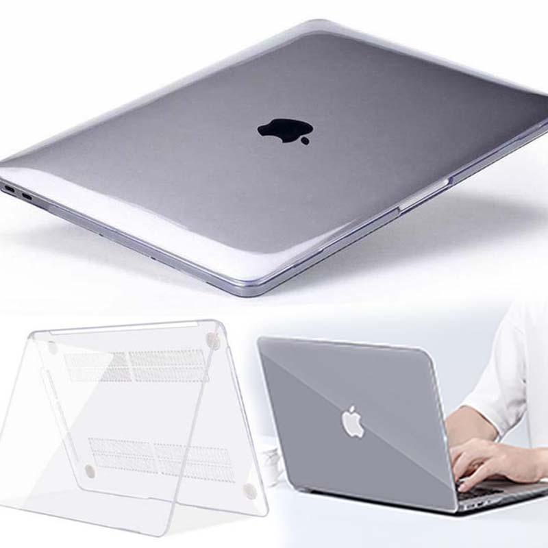 Kk & ll para apple macbook ar pro retina 11 12 13 15 & novo ar 13/pro 13 15 16 com barra de toque-cristal capa dura do portátil