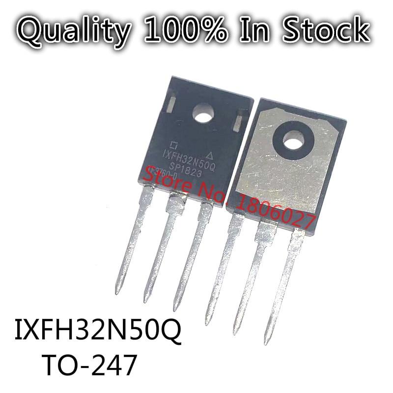 Send free 20PCS IXFH32N50Q    TO-247  500V 32A High power field effect tube